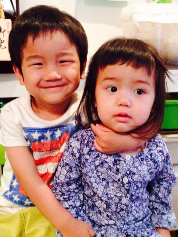 シオン3歳8ヶ月〜端午の節句に母の日に初めての運動会_e0253026_617919.jpg