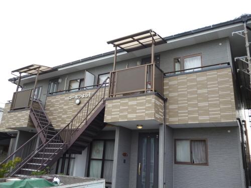 集合住宅 外壁塗装工事_a0167735_16591474.jpg