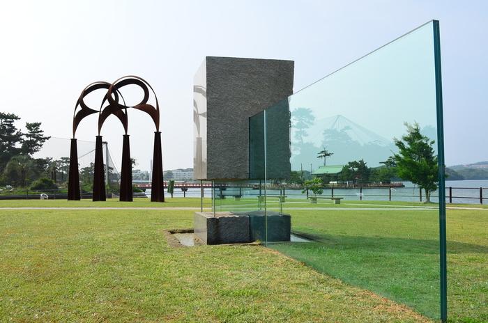 """""""彫刻と湖と花~ときわ公園をプチ散歩""""_d0153941_17593972.jpg"""