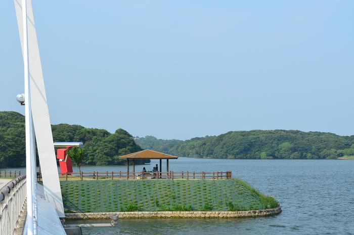 """""""彫刻と湖と花~ときわ公園をプチ散歩""""_d0153941_1895325.jpg"""