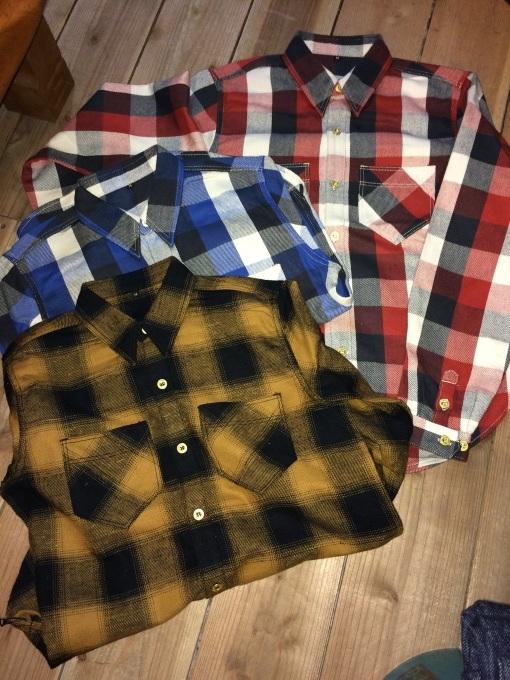 WLS オリジナルネルシャツ_b0278148_08461826.jpg