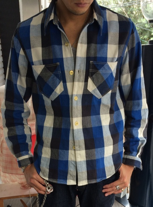 WLS オリジナルネルシャツ_b0278148_08465795.jpg