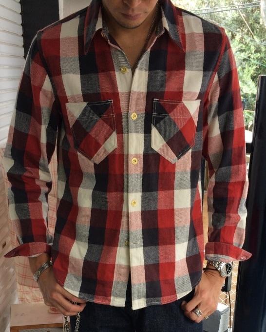 WLS オリジナルネルシャツ_b0278148_08470938.jpg