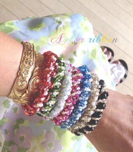 Mermaid Wave Bracelet*Color LineUp♪_f0017548_14233962.jpg