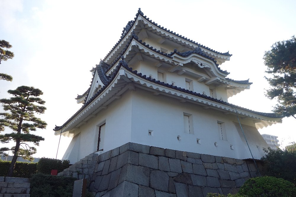 玉藻公園 高松城旧東之丸艮櫓_c0112559_1122868.jpg