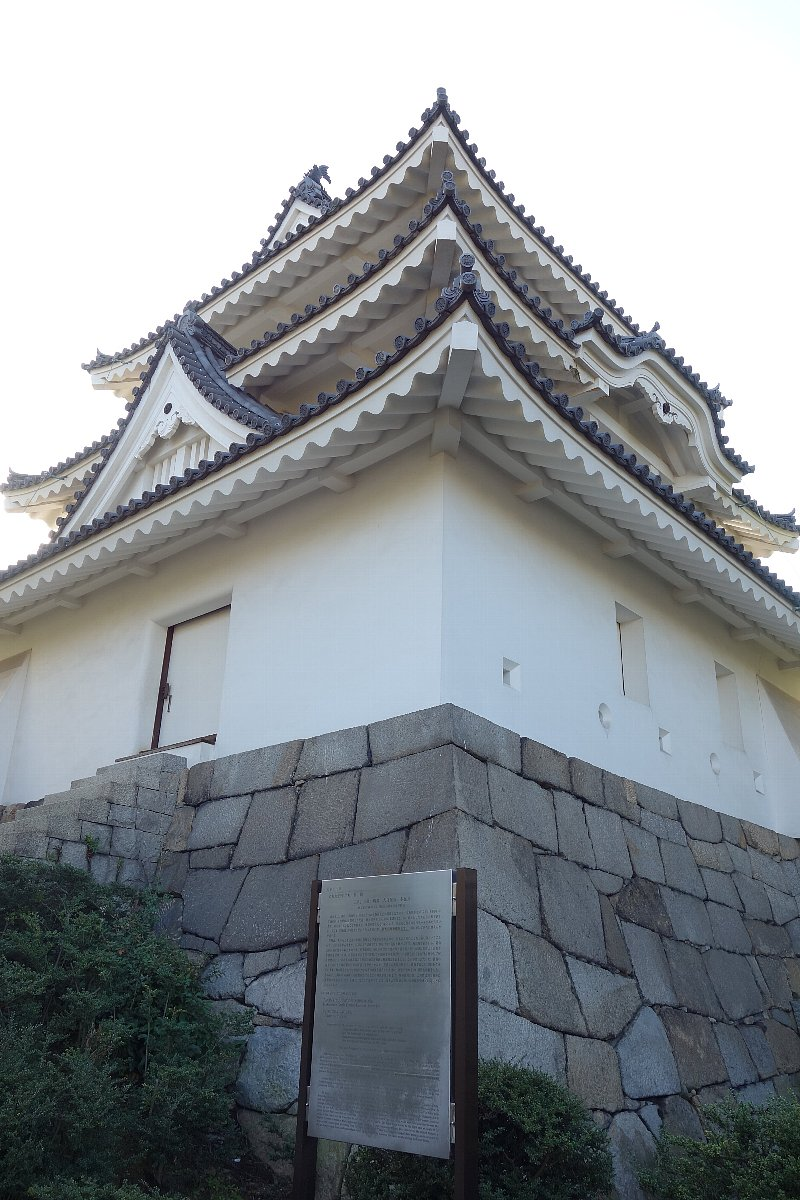 玉藻公園 高松城旧東之丸艮櫓_c0112559_1123886.jpg