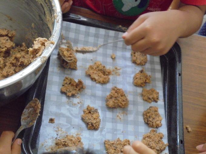 育てた小麦でクッキー作り_f0324461_00044739.jpg