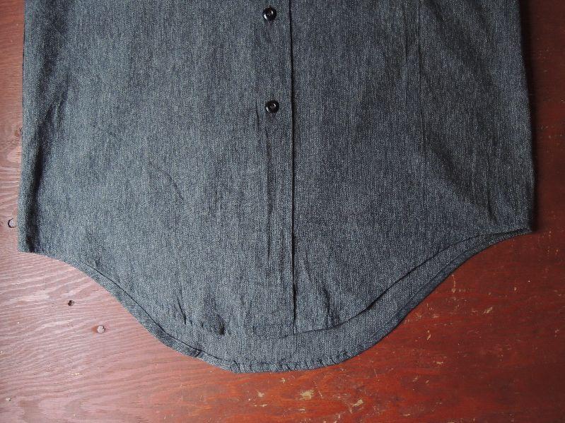 50S BIGMAC BLACK CHAMBRAY SHIRT--RECOMMEND--_c0176867_14153744.jpg