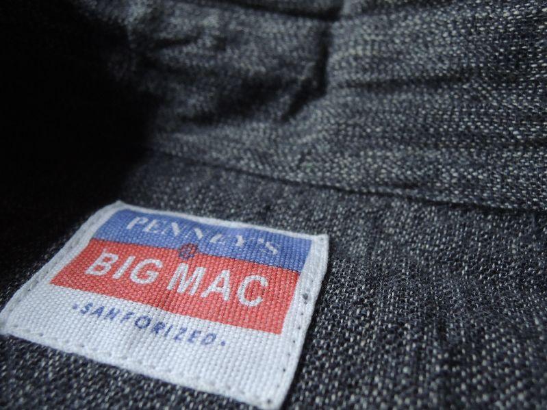 50S BIGMAC BLACK CHAMBRAY SHIRT--RECOMMEND--_c0176867_1423462.jpg