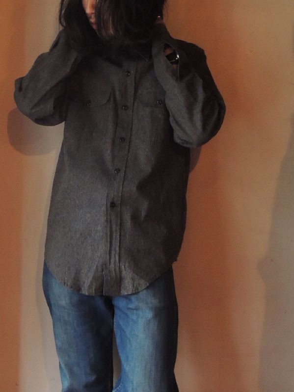 50S BIGMAC BLACK CHAMBRAY SHIRT--RECOMMEND--_c0176867_1430373.jpg