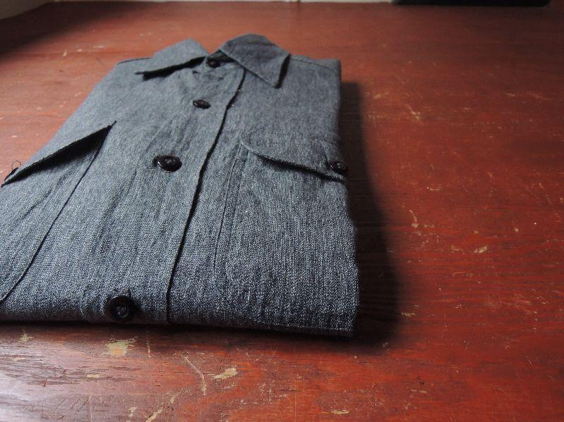 50S BIGMAC BLACK CHAMBRAY SHIRT--RECOMMEND--_c0176867_14355177.jpg
