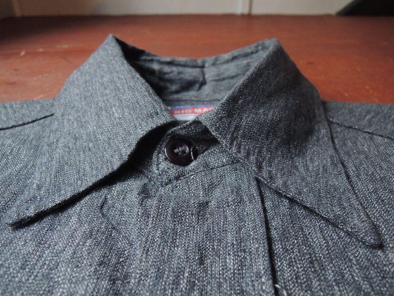 50S BIGMAC BLACK CHAMBRAY SHIRT--RECOMMEND--_c0176867_148136.jpg