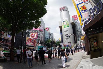 6月23日(火)今日の渋谷109前交差点_b0056983_19125605.jpg