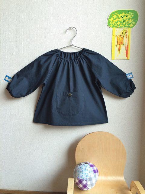 小さくてもきちんとした服 スモック2~3才_e0271890_14392310.jpg