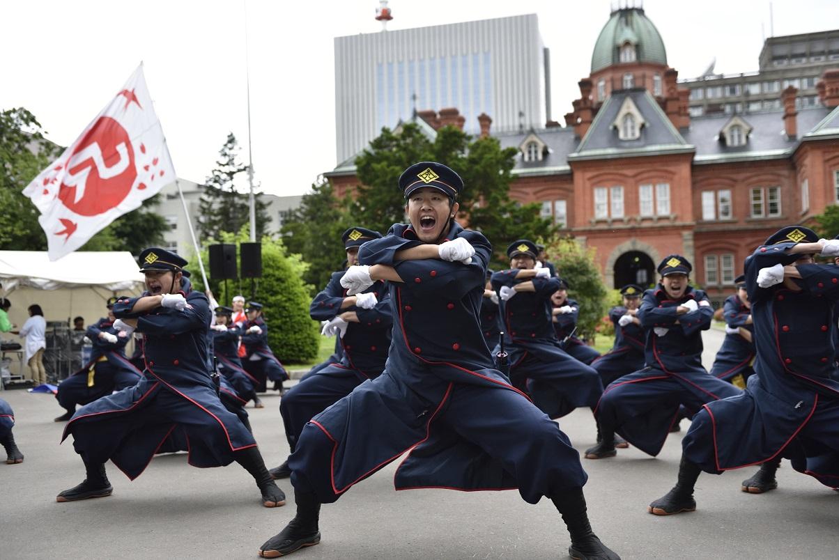 YOSAKOIソーラン JR九州櫻燕隊_f0184198_145144.jpg