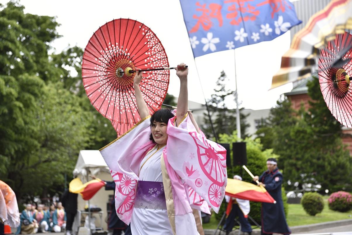 YOSAKOIソーラン JR九州櫻燕隊_f0184198_1465260.jpg