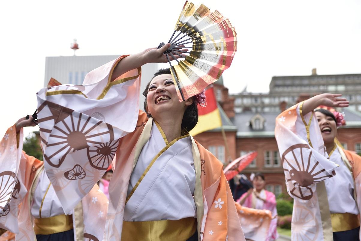 YOSAKOIソーラン JR九州櫻燕隊_f0184198_147991.jpg