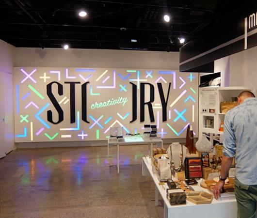 NYの新感覚小売店、ストーリー(Story)が、ついに「クリエイティビティ」編?!_b0007805_152686.jpg