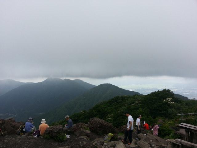 6月22日(月)金時山ハイキング_d0157745_21294845.jpg