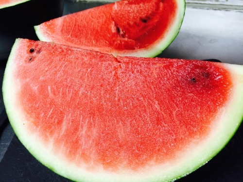 Yomitan water melon._c0153966_21175655.jpg