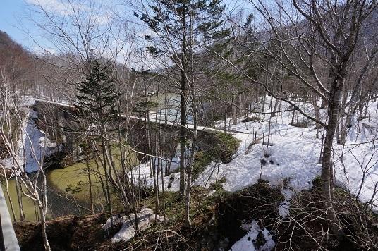 北海道2日目 糠平湖のアーチ橋_e0195766_12190525.jpg