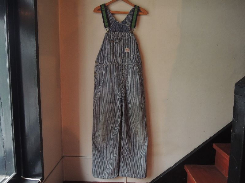 50\'S TEST RANDOM HICKORY OVERALL--RECOMMEND--_c0176867_1433212.jpg