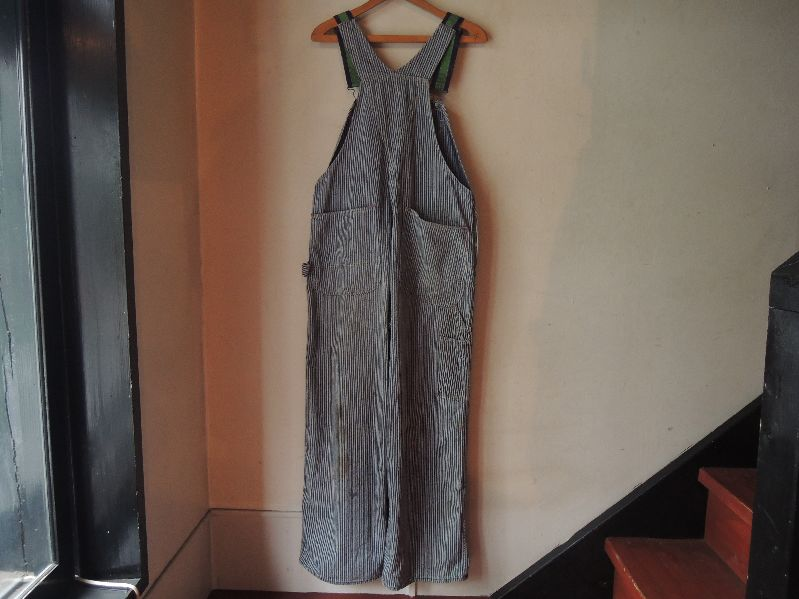 50\'S TEST RANDOM HICKORY OVERALL--RECOMMEND--_c0176867_1435021.jpg