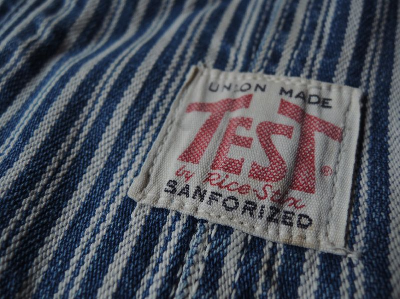 50\'S TEST RANDOM HICKORY OVERALL--RECOMMEND--_c0176867_14364743.jpg