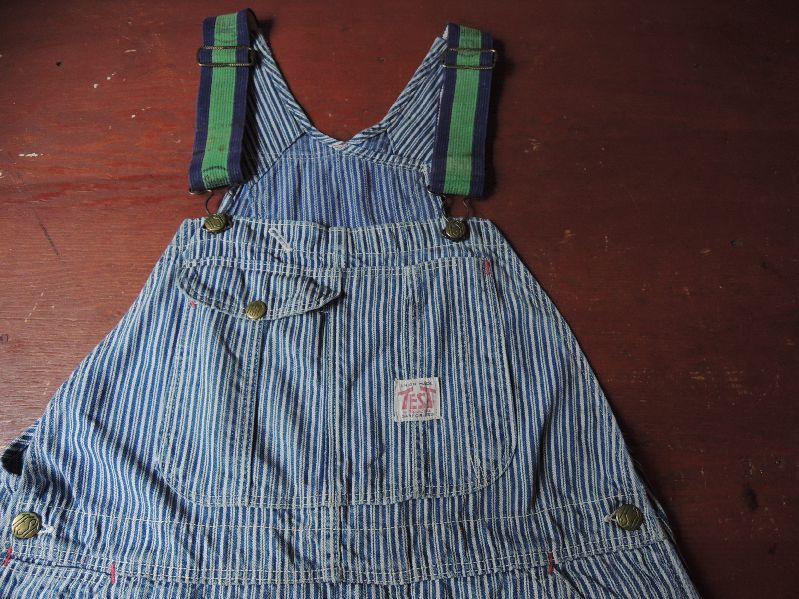 50\'S TEST RANDOM HICKORY OVERALL--RECOMMEND--_c0176867_1447376.jpg