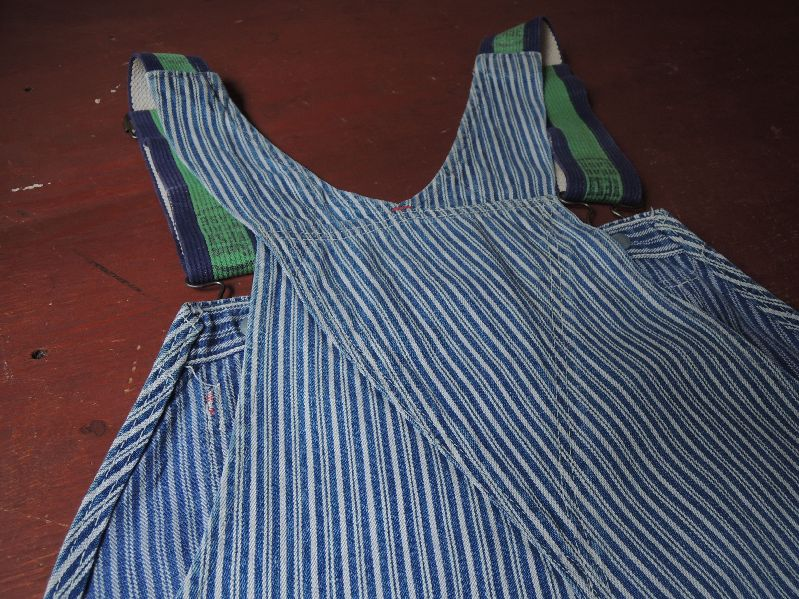 50\'S TEST RANDOM HICKORY OVERALL--RECOMMEND--_c0176867_15233246.jpg