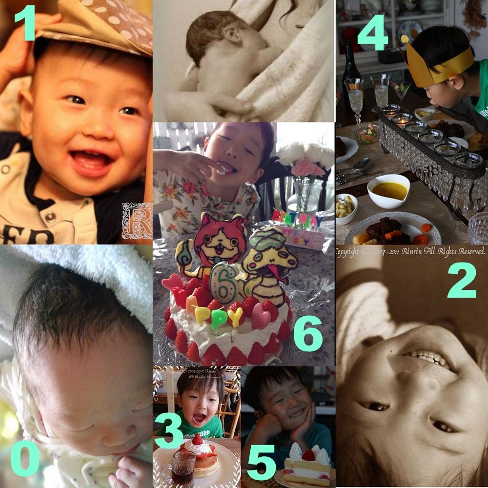 次男6歳のお祝い・ 初めてのデコチョコケーキ作り_e0237680_16103139.jpg