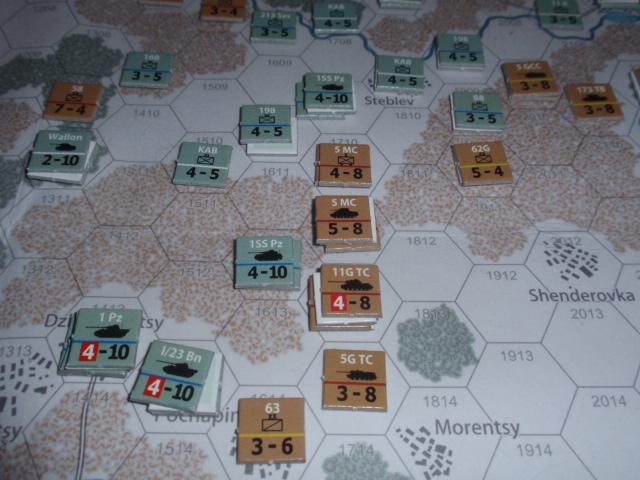CHS/CMJ「コルスンの戦い」ソロプレイ(2戦目)⑦_b0162202_18282553.jpg