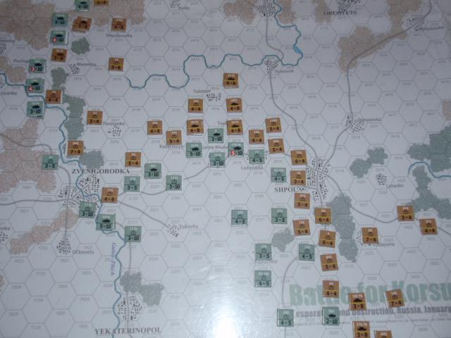 CHS/CMJ「コルスンの戦い」ソロプレイ(2戦目)⑦_b0162202_18283540.jpg