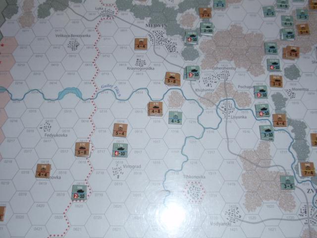 CHS/CMJ「コルスンの戦い」ソロプレイ(2戦目)⑦_b0162202_18284946.jpg