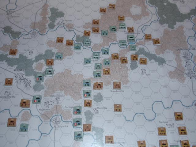 CHS/CMJ「コルスンの戦い」ソロプレイ(2戦目)⑦_b0162202_18285954.jpg