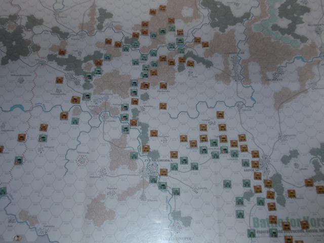 CHS/CMJ「コルスンの戦い」ソロプレイ(2戦目)⑦_b0162202_18291093.jpg