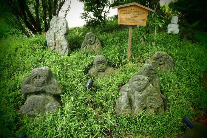 椿山荘の五百羅漢 - Ⅰ_d0149245_22332232.jpg