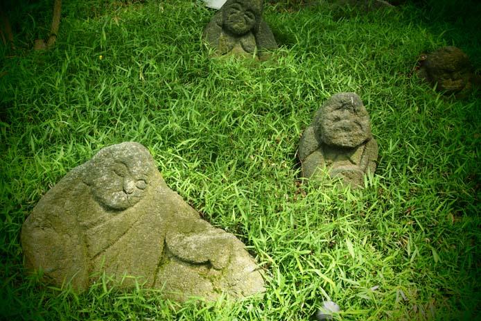椿山荘の五百羅漢 - Ⅰ_d0149245_22333352.jpg