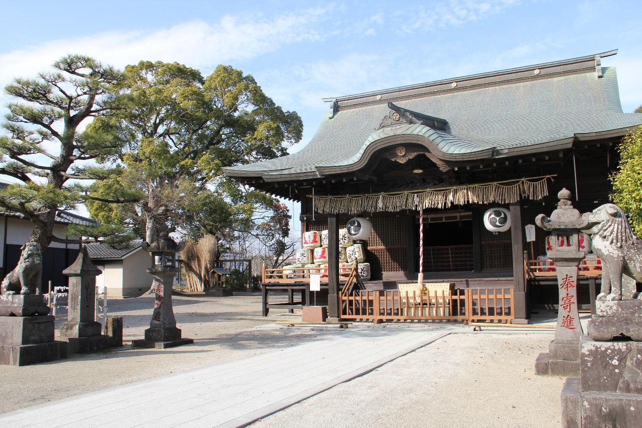 【大善寺玉垂神社】 日本三大火祭りの「玉垂宮の鬼夜」で有名_c0011649_0131399.jpg