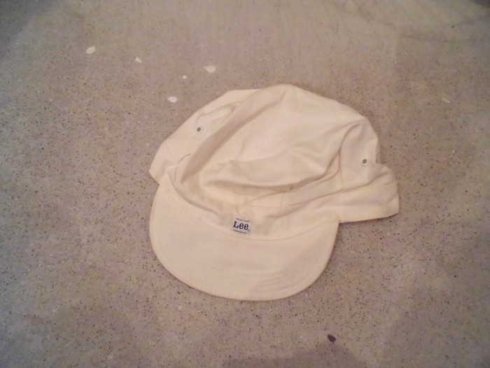 Early60\'s DEAD STOCK Lee HBT Engineer Cap NOS ②_e0187362_19211480.jpg