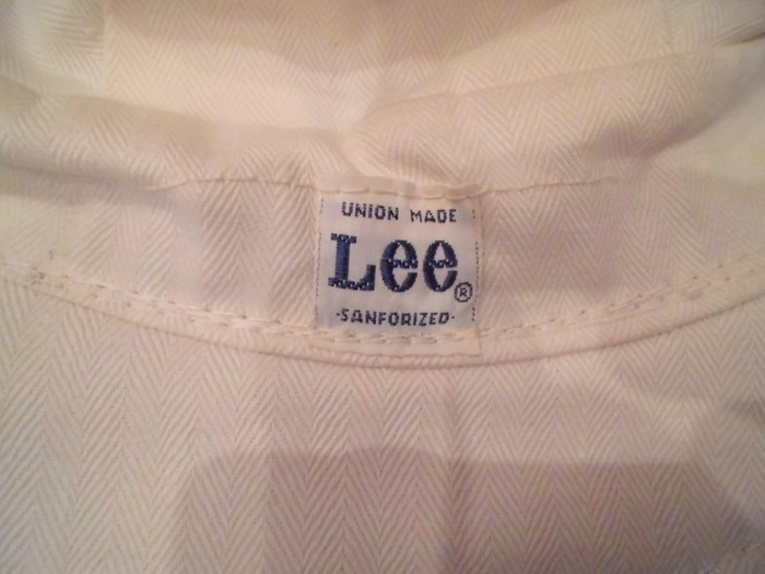 Early60\'s DEAD STOCK Lee HBT Engineer Cap NOS ②_e0187362_19212984.jpg