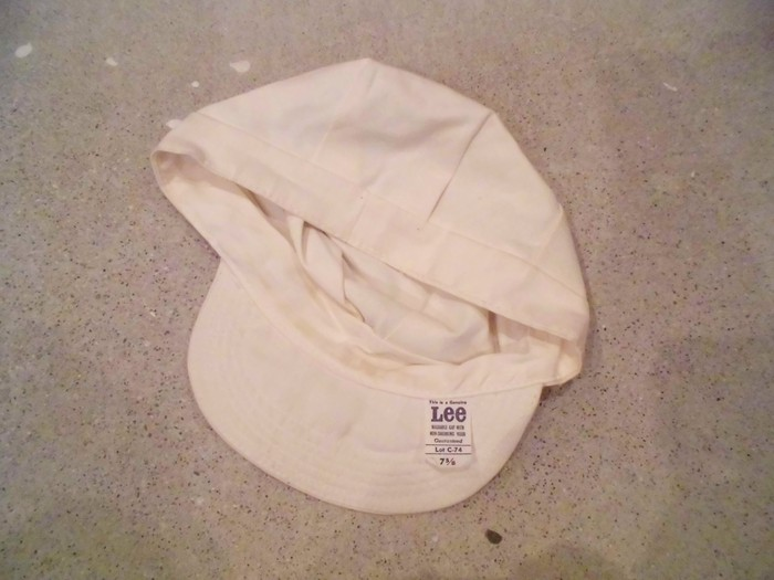 Early60\'s DEAD STOCK Lee HBT Engineer Cap NOS ②_e0187362_1921451.jpg