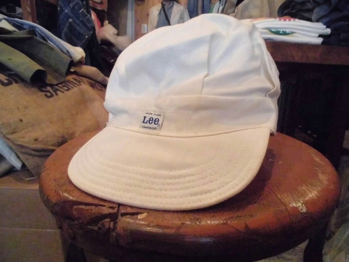 Early60\'s DEAD STOCK Lee HBT Engineer Cap NOS ②_e0187362_19221888.jpg