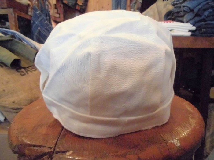 Early60\'s DEAD STOCK Lee HBT Engineer Cap NOS ②_e0187362_19231811.jpg
