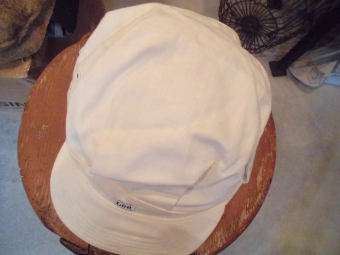 Early60\'s DEAD STOCK Lee HBT Engineer Cap NOS ②_e0187362_19242277.jpg