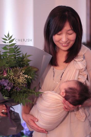 ママとベビーとブーケと♡_b0208604_19261748.jpg