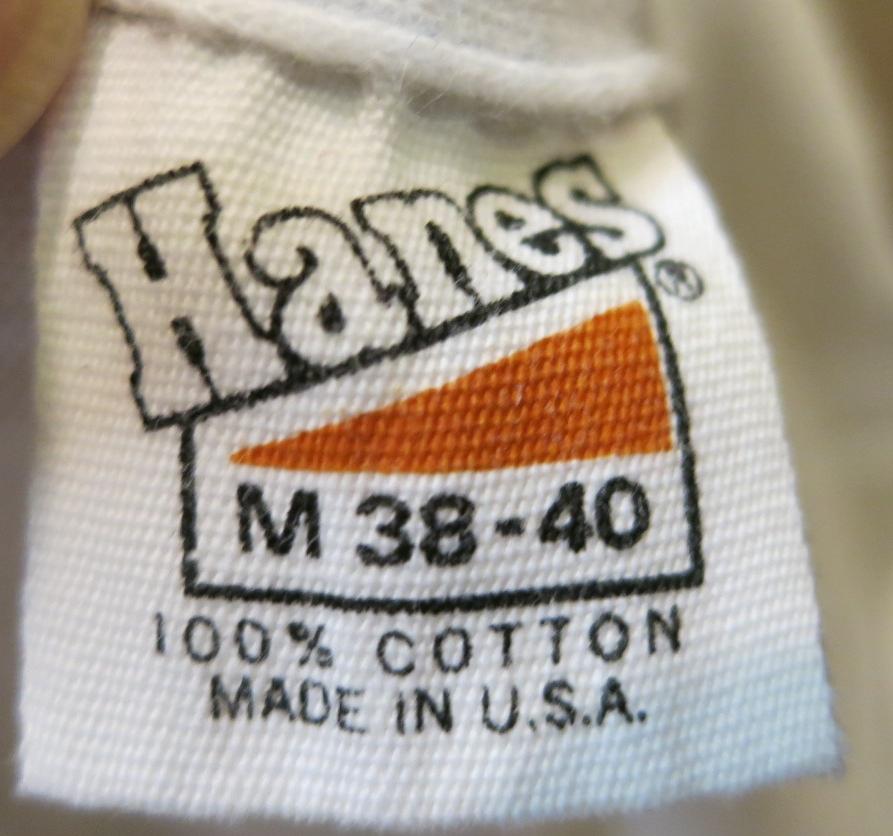 6/27(土)入荷!70'S HANES  染込みプリントT-shirts _c0144020_15274761.jpg