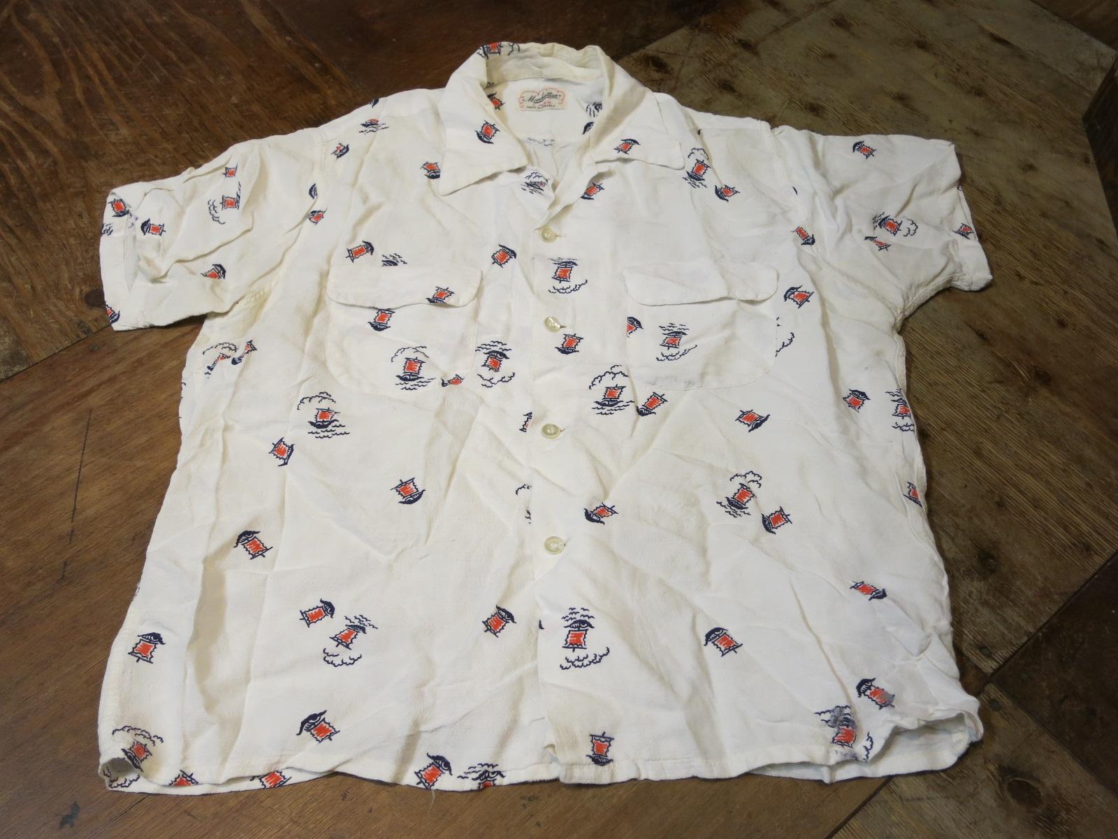 6/27(土)入荷!50\'S Manhattan shirts!!_c0144020_15452124.jpg