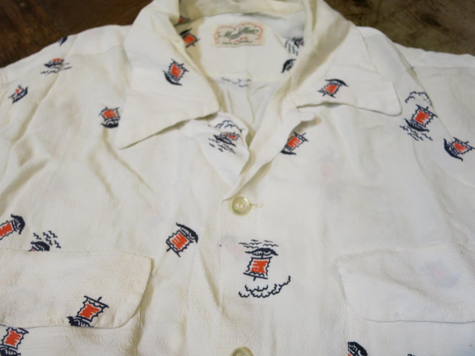6/27(土)入荷!50\'S Manhattan shirts!!_c0144020_15453390.jpg