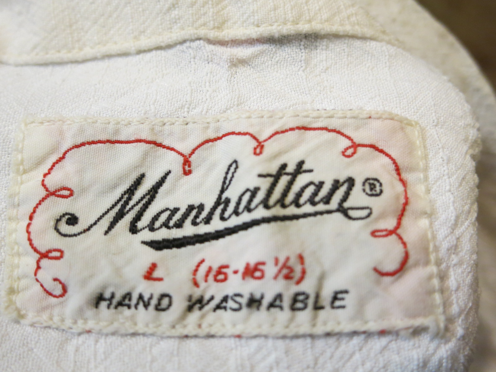 6/27(土)入荷!50\'S Manhattan shirts!!_c0144020_15453436.jpg